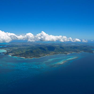 Antigua Aerial View
